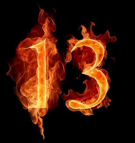Why the Number 13 is Sinister?